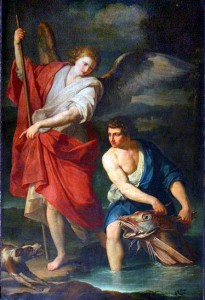 St. Raphael and Tobias