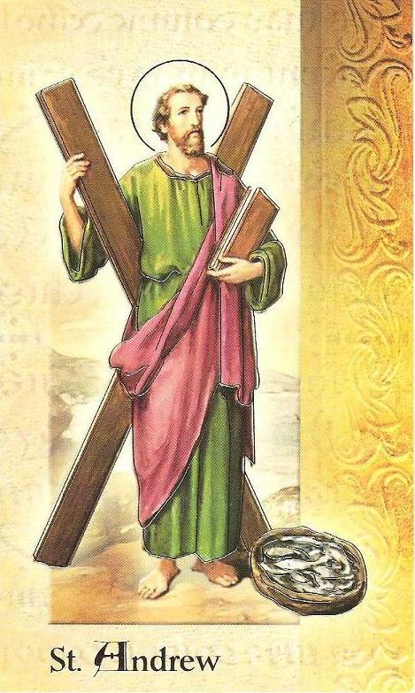 The Feast Day of Saint Andrew, the Apostle