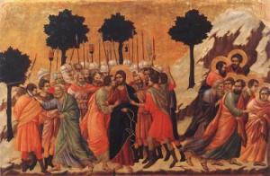 Jesus taken prisoner
