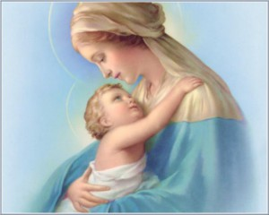 Mama and Baby Jesus