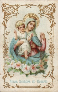 Our Lady of the rosary Italian