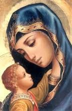 Blessed Mother and Baby Jesus 2