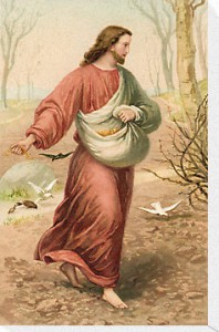 Jesus Sower of the Seed