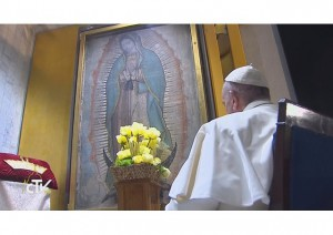 Pope Francis and Crowning OL Guadalupe
